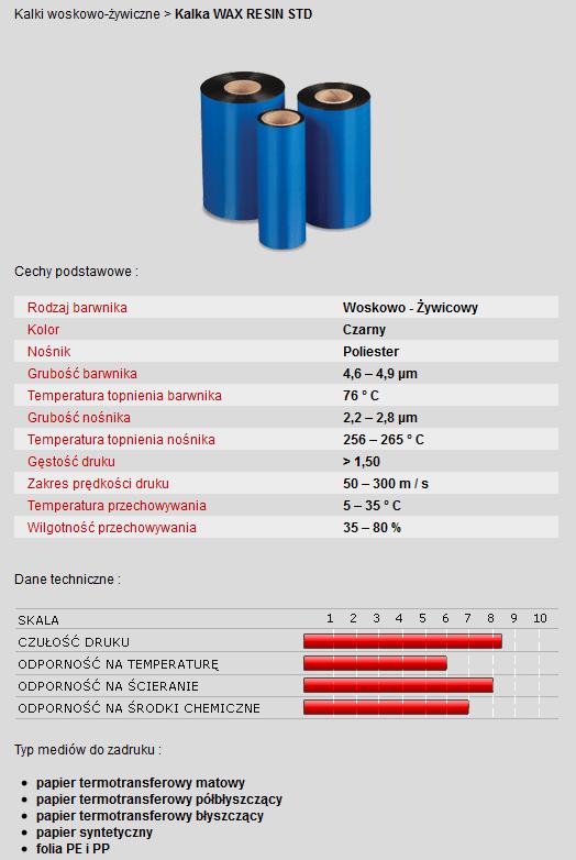 kalka-woskowo-żywiczna-WAX-Resin-STD